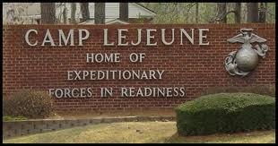 Camp Lejuene Sign